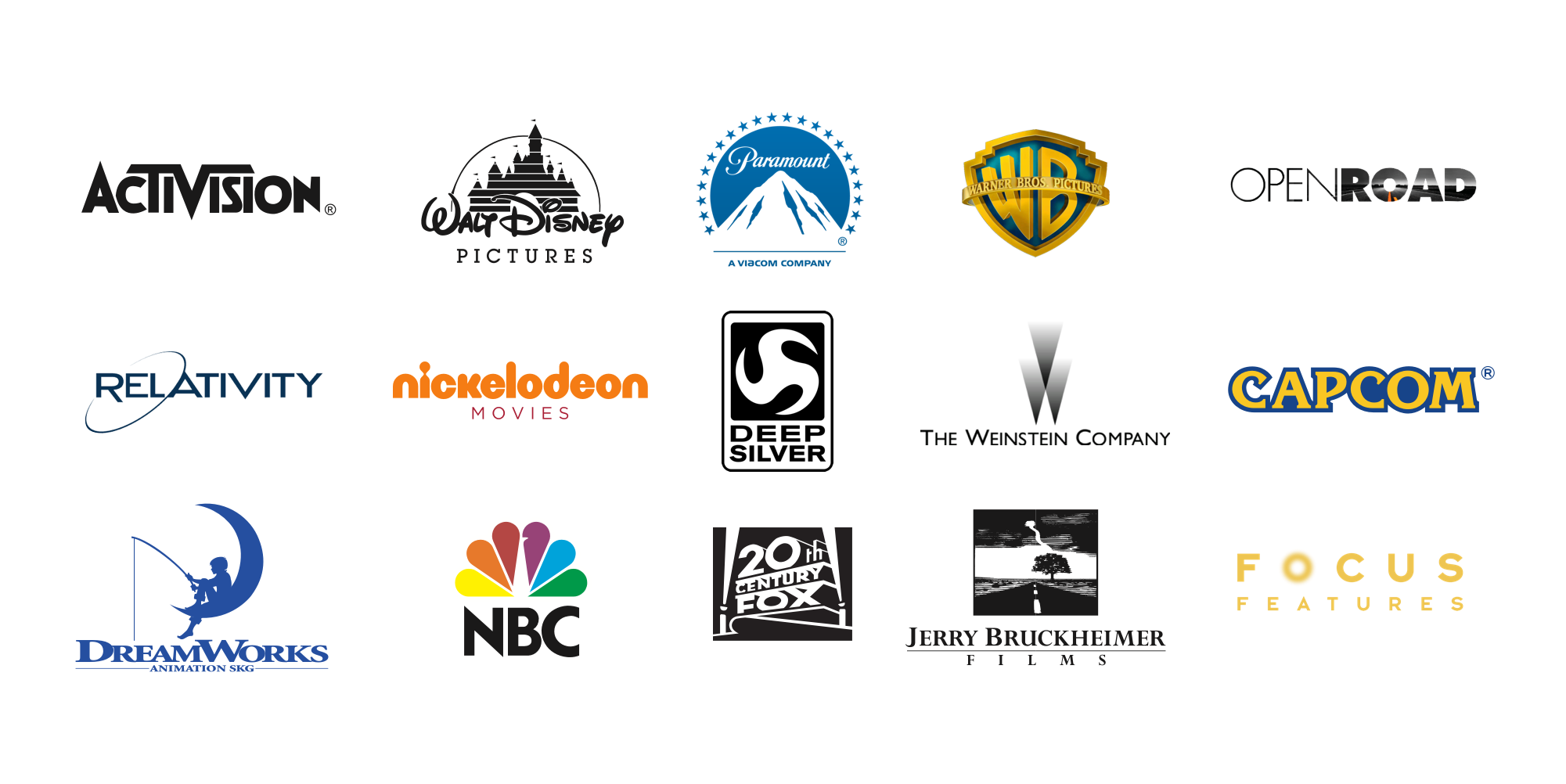 Film & TV company list